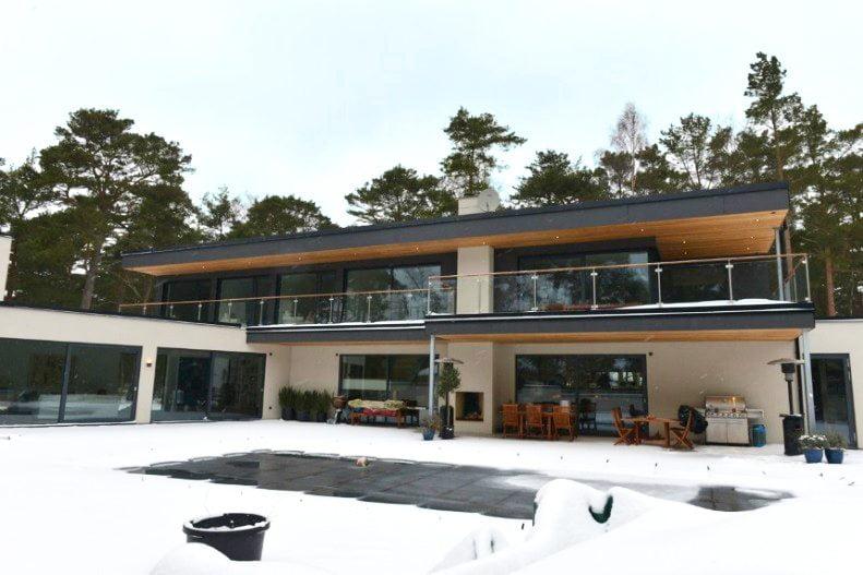 Villa Wahlberg i Ljunghusen
