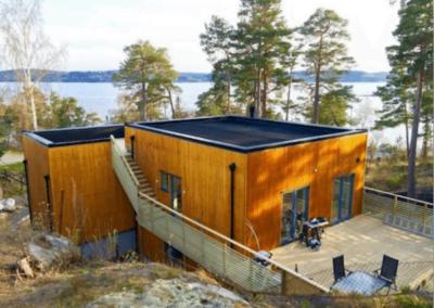Smart villa på Älgö